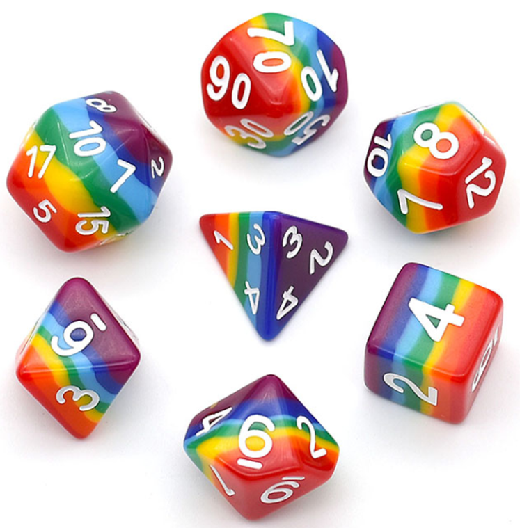 Layer Dice 7 Layer Rainbow