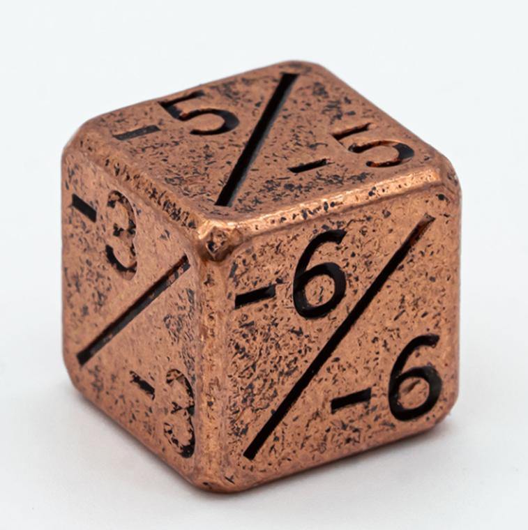 Copper Metal -/- Counter D6