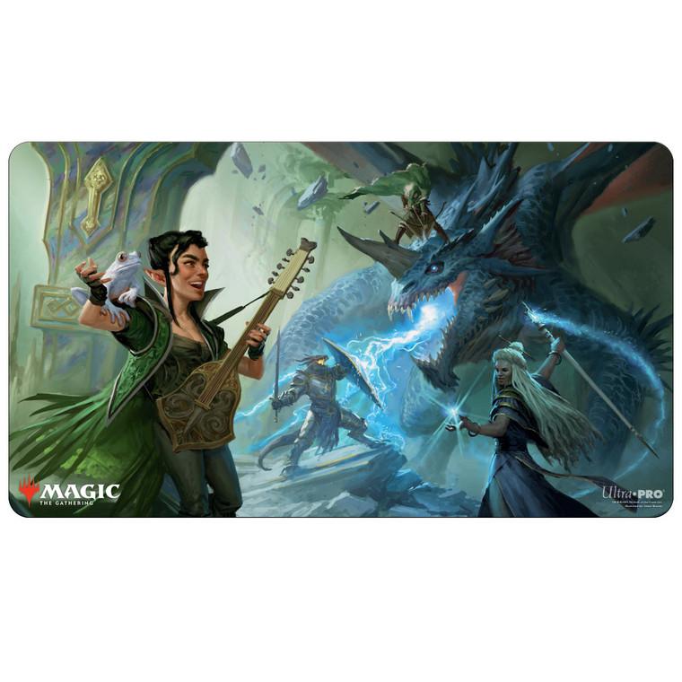 Party Fighting Blue Dragon AFR Playmat V1