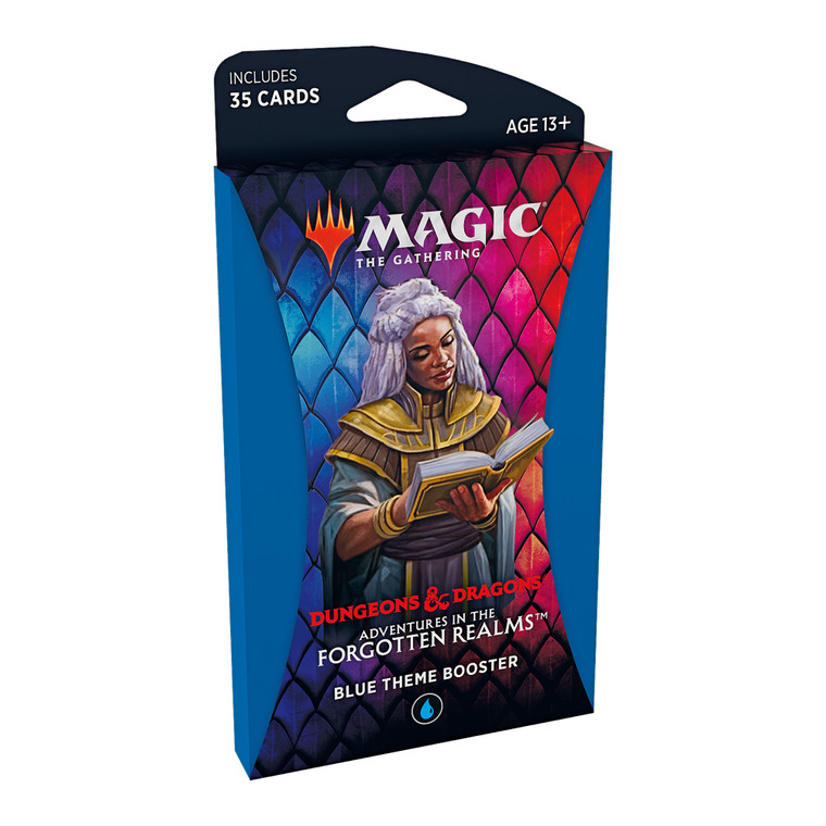 Theme Booster Blue Adventures in the Forgotten Realms
