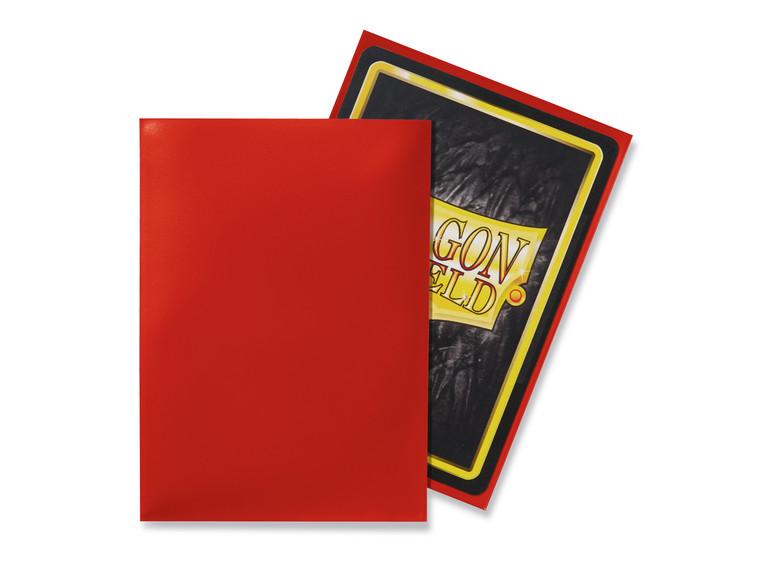 Dragon Shield Classic 100ct Red