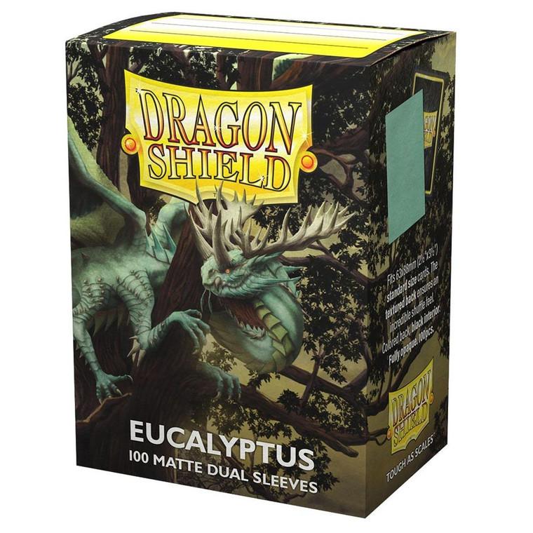 Dragon Shield Matte Dual 100ct Eucalyptus