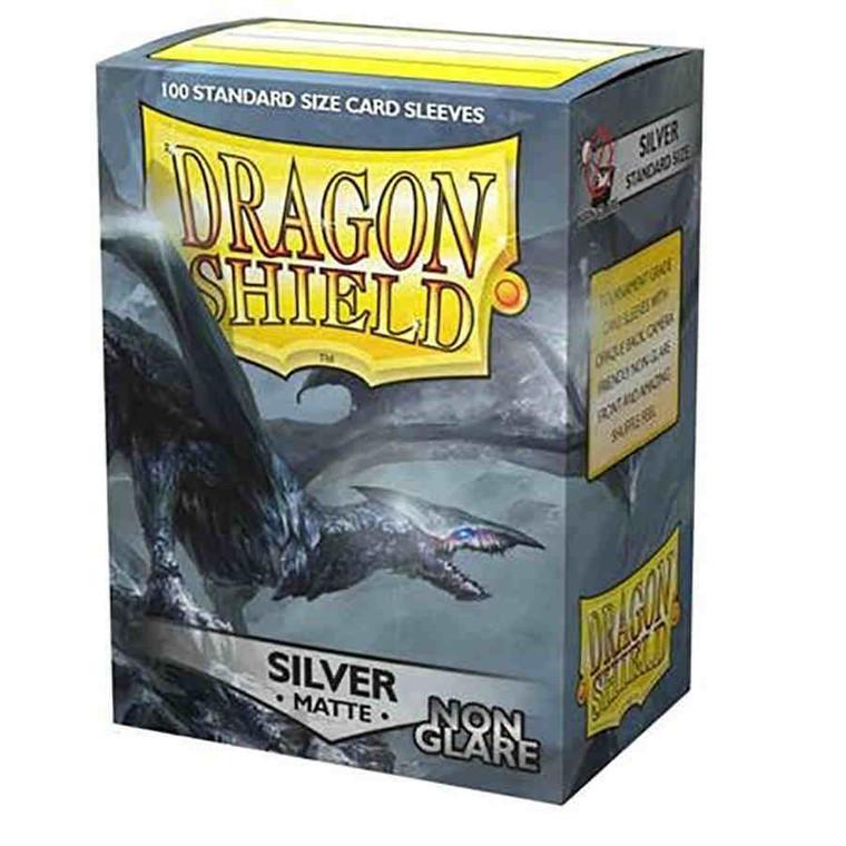 Dragon Shield Non Glare Matte Silver