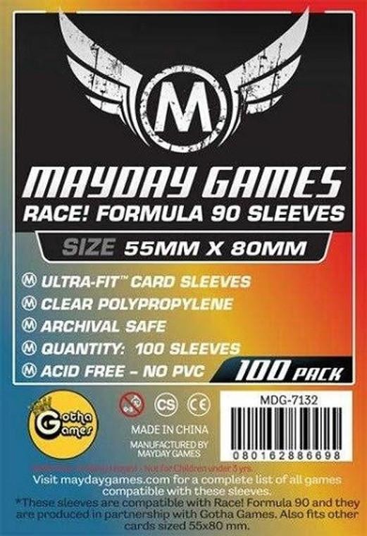 55mm x 80mm 100ct Premium Formula 90 Sleeves Mayday