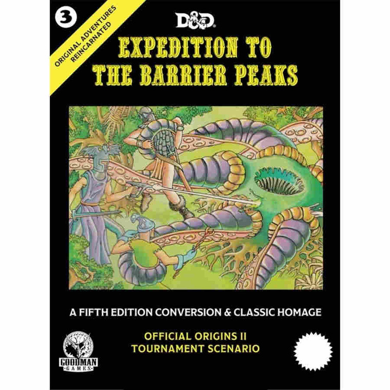 5E Original Adventures Reincarnated #3 Expedition to the Barrier Peaks
