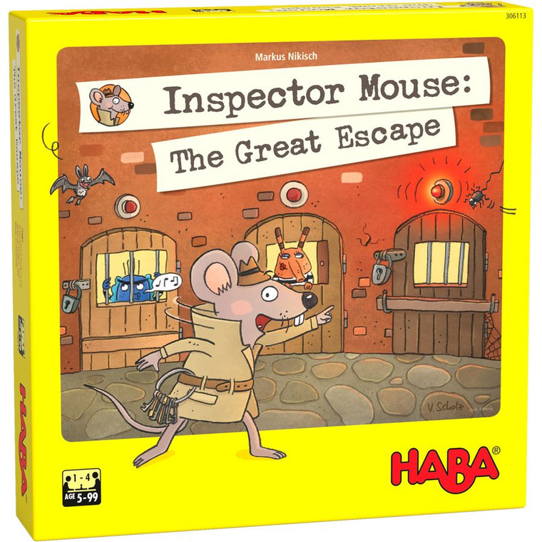 Inspector Mouse The Great Escape