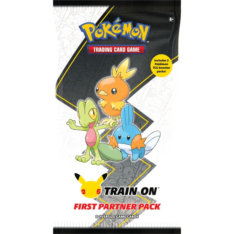 Pokemon First Partner Hoenn Pack
