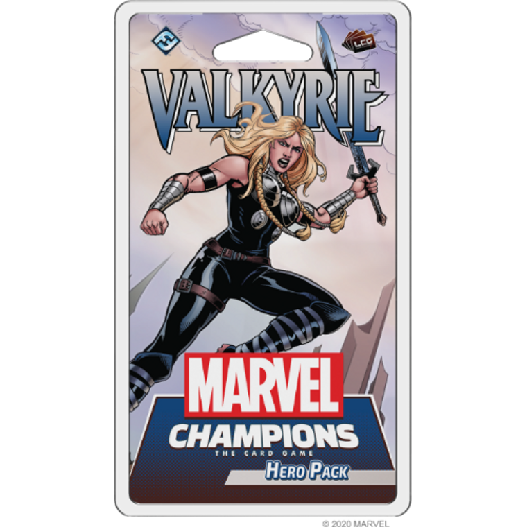*Pre-Order* Marvel Champions LCG: Valkyrie Hero Pack