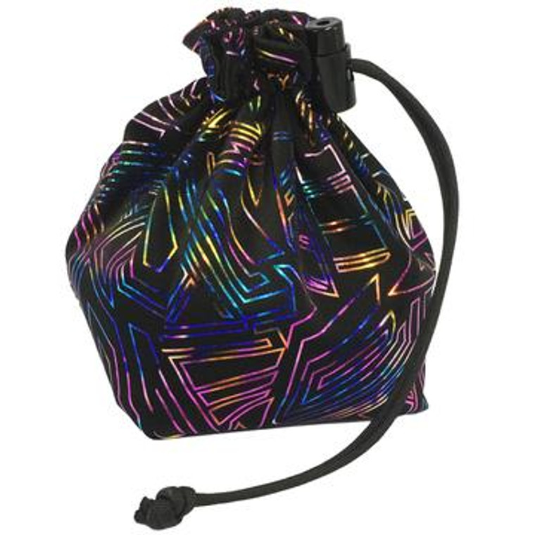 Dice Bag - Cyberpunk Holographic