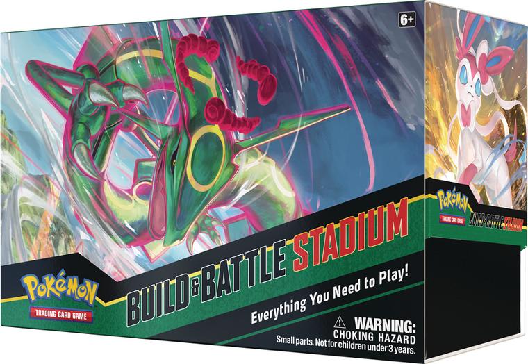 Pokemon Evolving Skies Build & Battle Stadium