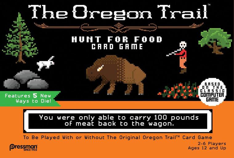 Oregon Trail Hunt for Food Card Game