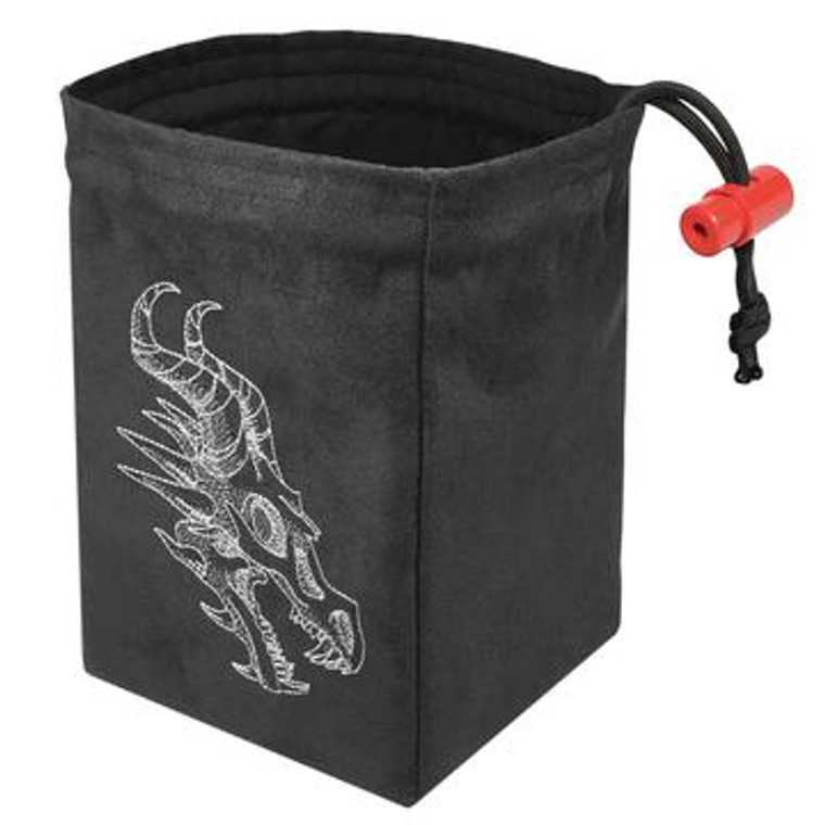 Dice Bag - Shadow Dragon Gray