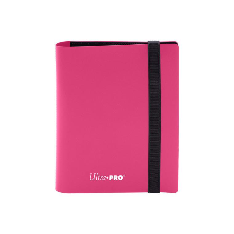 2 Pocket 80ct Pro-Binder Hot Pink