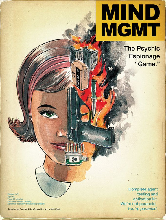 """Mind MGMT: The Psychic Espionage """"Game"""""""