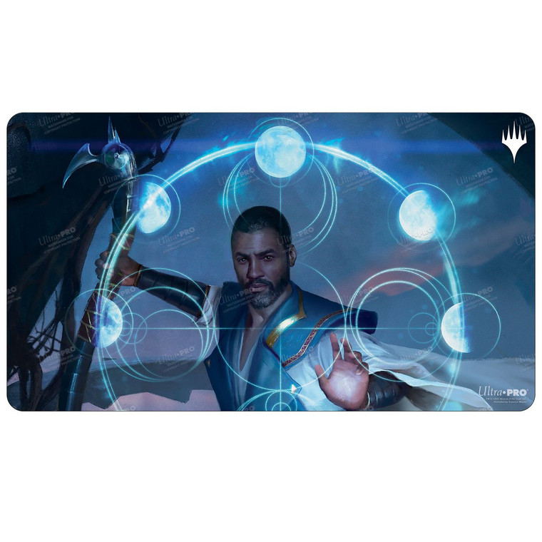 Teferi, Who Slows the Sunset MID Playmat F