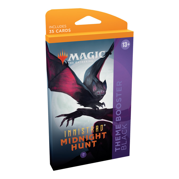 Theme Booster Innistrad Midnight Hunt Black