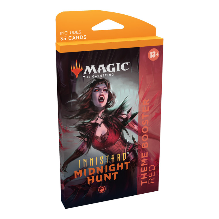 Theme Booster Innistrad Midnight Hunt Red
