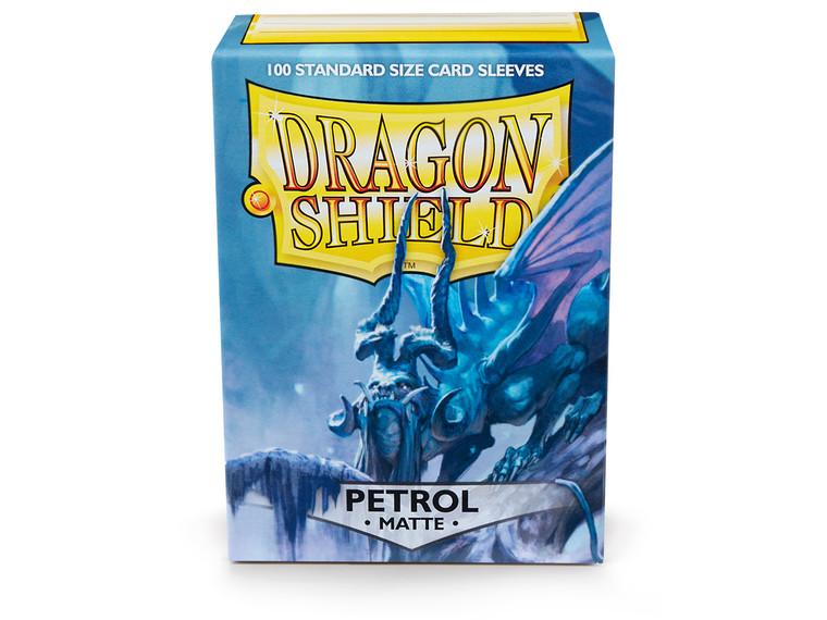 Dragon Shield Matte 100ct Petrol