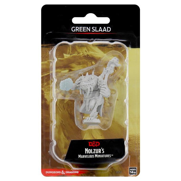 Unpainted NPC Slaad, Green NM Green Slaad 90213
