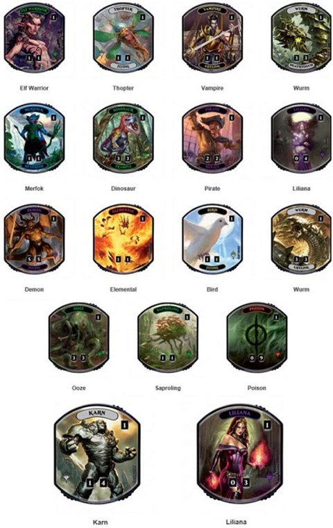 MTG Relic Tokens: Lineage Collection Box
