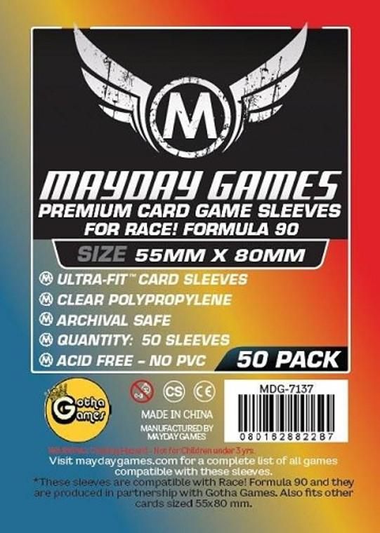 55mm x 80mm 50ct Premium Formula 90 Sleeves Mayday