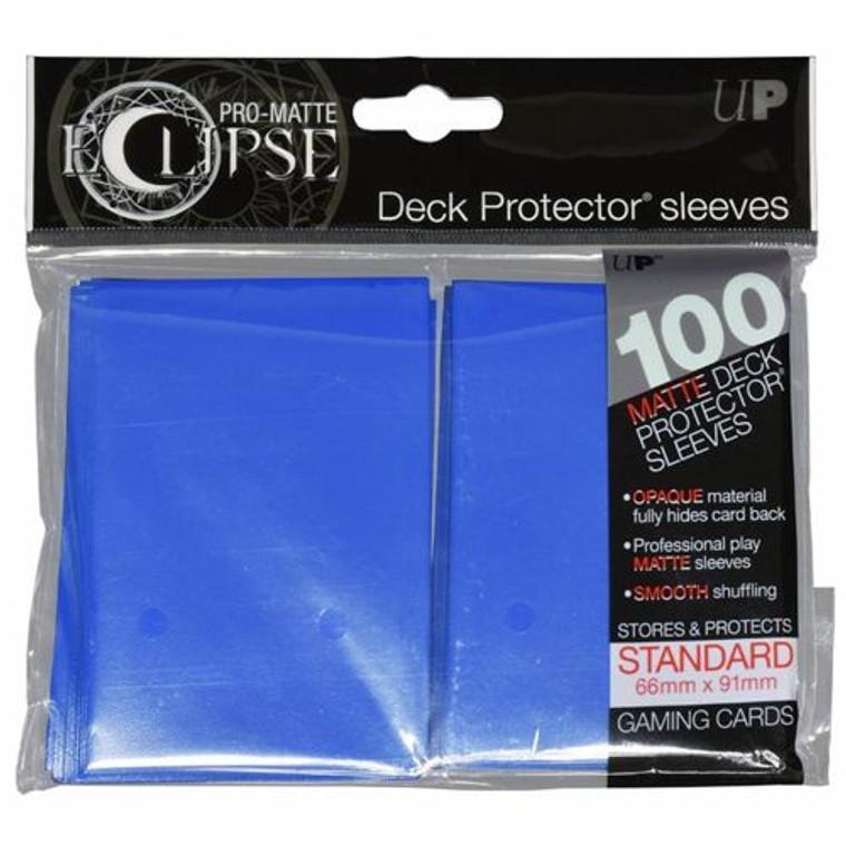 100ct Pro-Matte Blue Eclipse Deck Protectors
