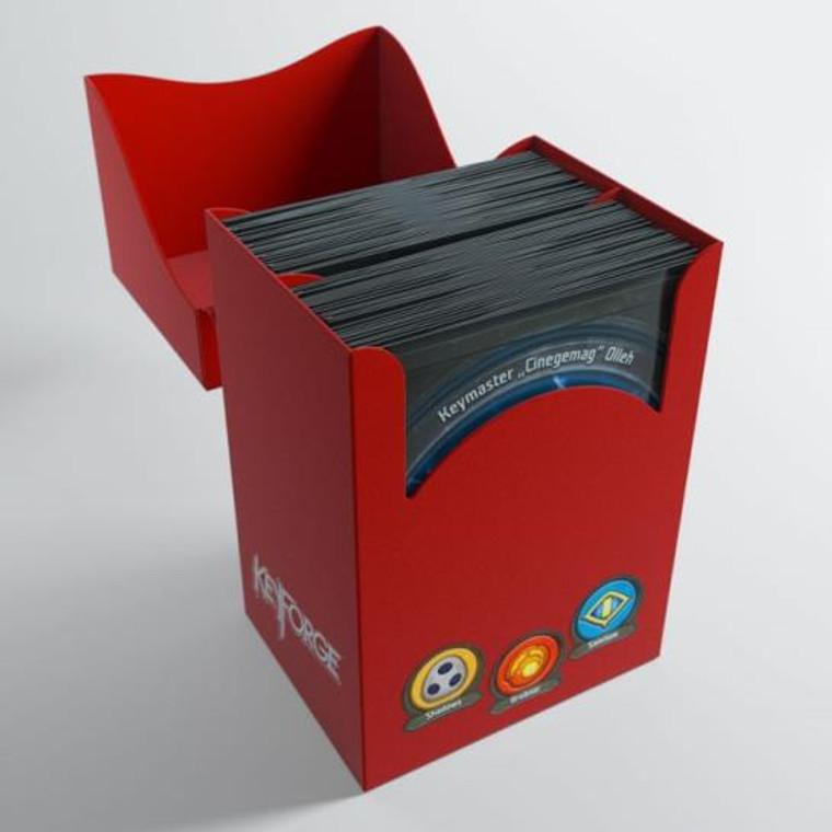 Keyforge Deck Box Gemini Red