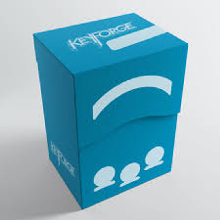 Keyforge Deck Box Gemini Blue