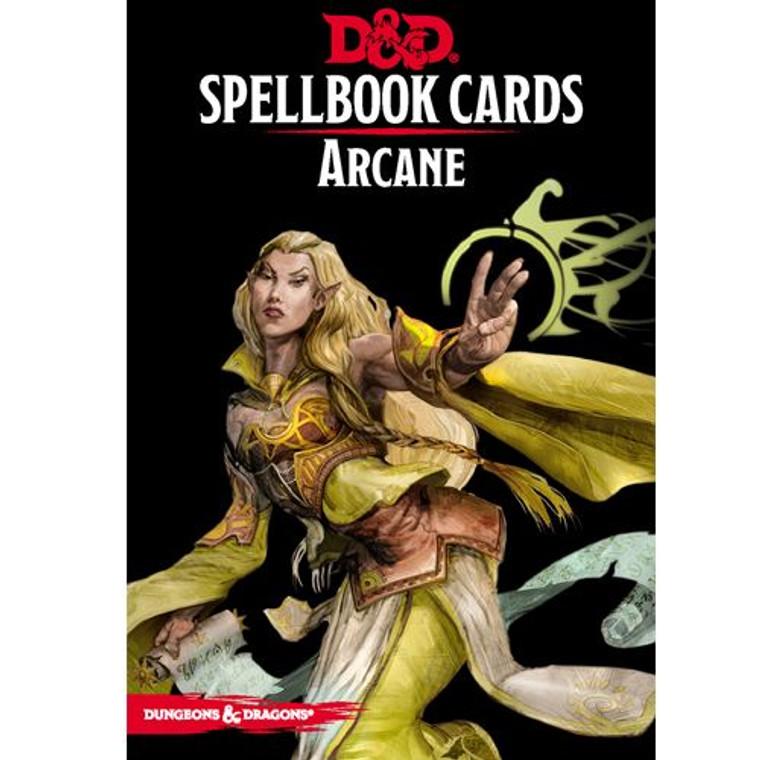 D&D 5E Spellbook Cards Arcane
