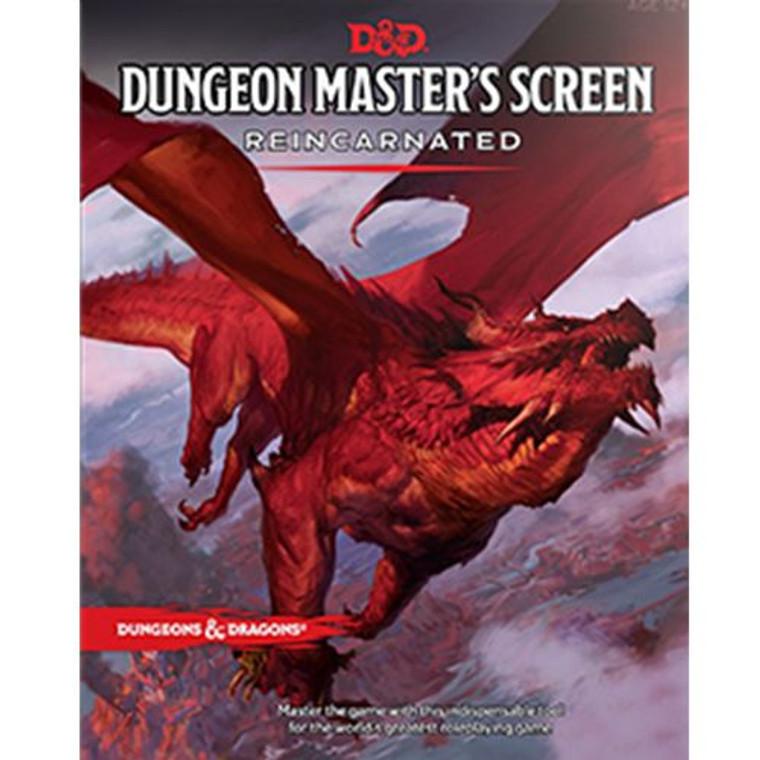 D&D 5E Dungeon Master's Screen REINCARNATED