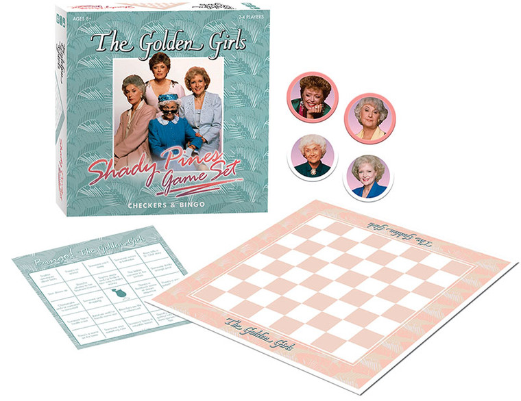 Golden Girls The Shady Pines Game Set