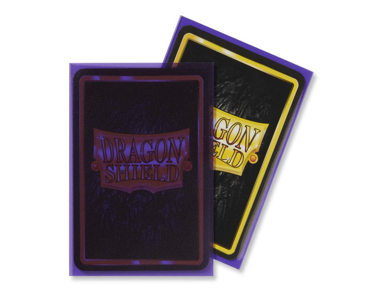 Dragon Shield Matte 100ct Clear Purple