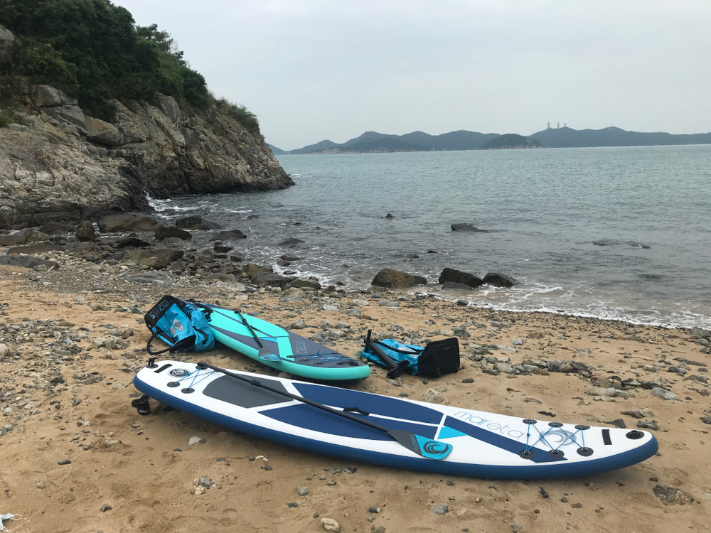 Stand up Paddle board (SUP):  Leatherback 350 - 12