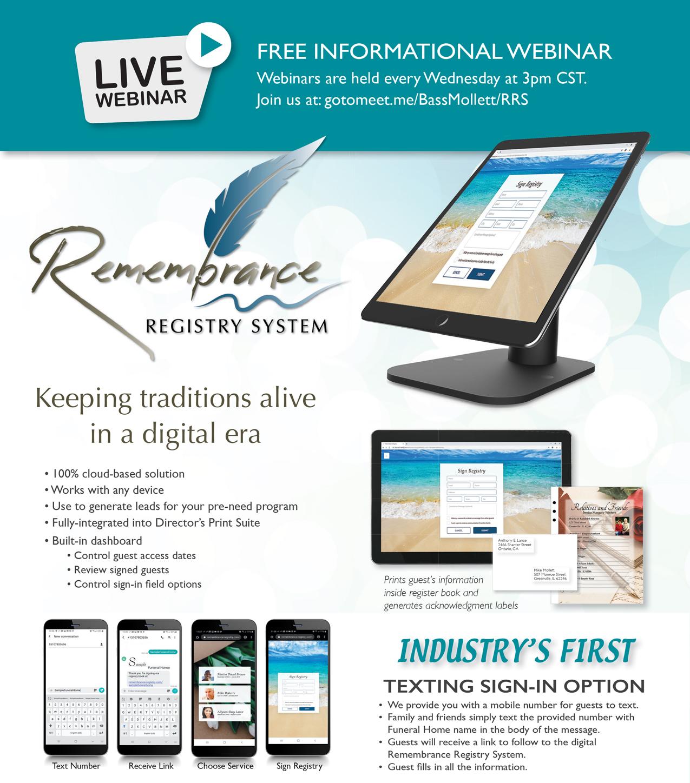Remembrance Registry System