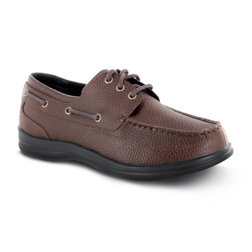 Apex Men's Venture Classic Boat Shoe - Brown