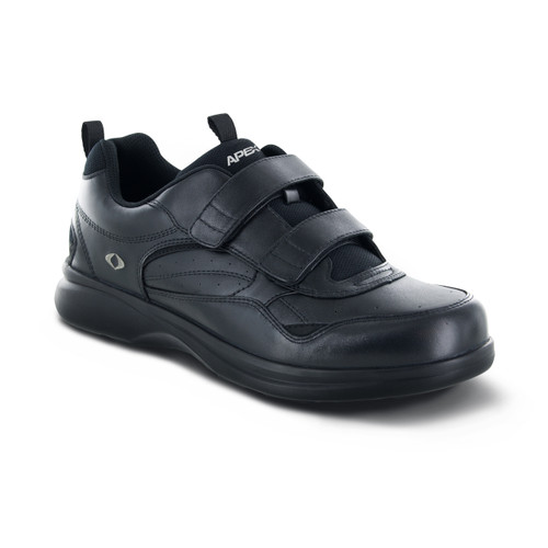 Biomechanical Double Strap Active Walkers - Black (G8010M)