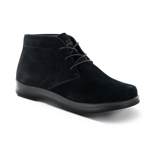 A500W | Women's Paige Desert Boot | Black | Apex Shoes