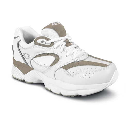 Apex Men's Lace Walkers - White/Grey