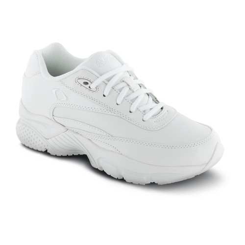 Apex Men's Lace Walkers Shoes - White