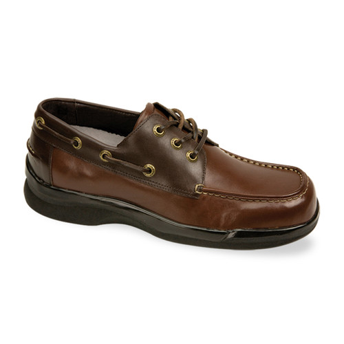 Apex Men's Biomechanical Boat Shoe - Brown