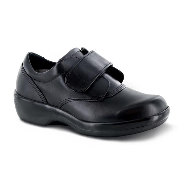 Apex Women's Biomechanical Single Strap shoe - Black
