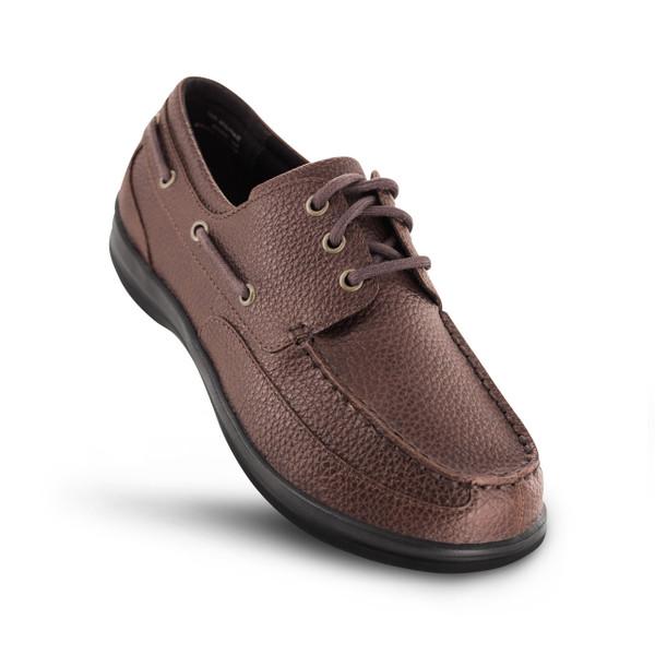 Apex Men's Venture Classic Boat Shoe - Brown