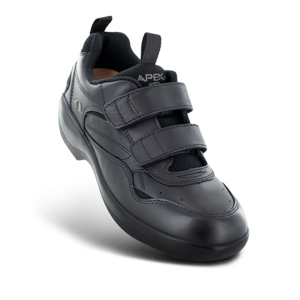 Apex Women's Double Strap Active Walker - Black (G8010W)