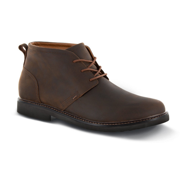 LT410M | Men's Hudson Chukka Boot | Brown | Apex Shoes & Boots