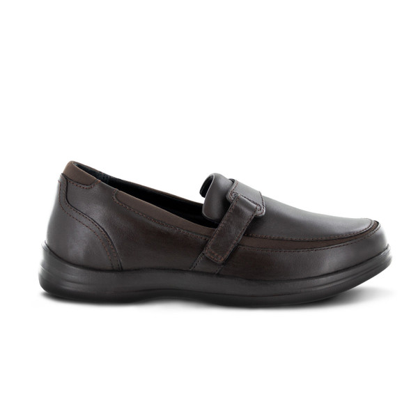 A215W | Women's Petals Evelyn | Dark Brown | Apex Shoes