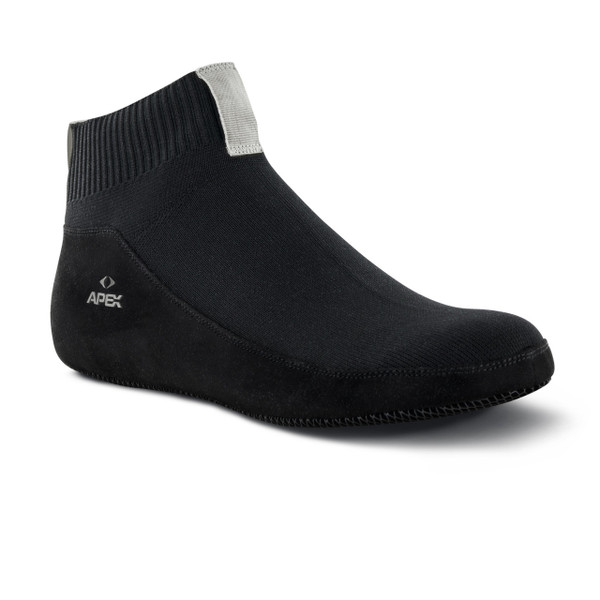 SS100 | Unisex Basis Slip-On | Black | Apex Shoes