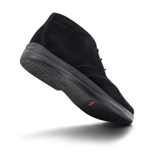 A500W | Women's Paige Desert Boot | Black | Apex Shoes