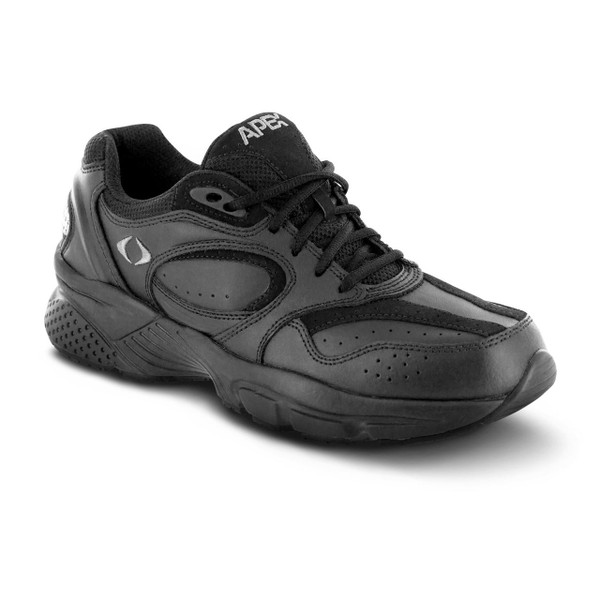 Men's Lace Walkers - Black