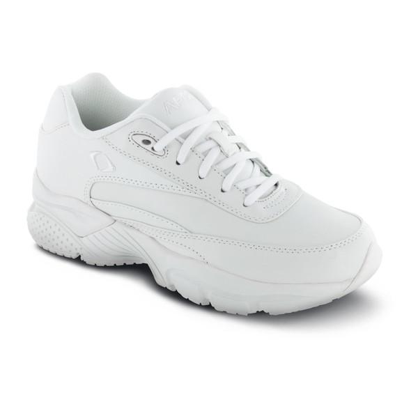 Apex Men's Lace Walkers Shoes - White