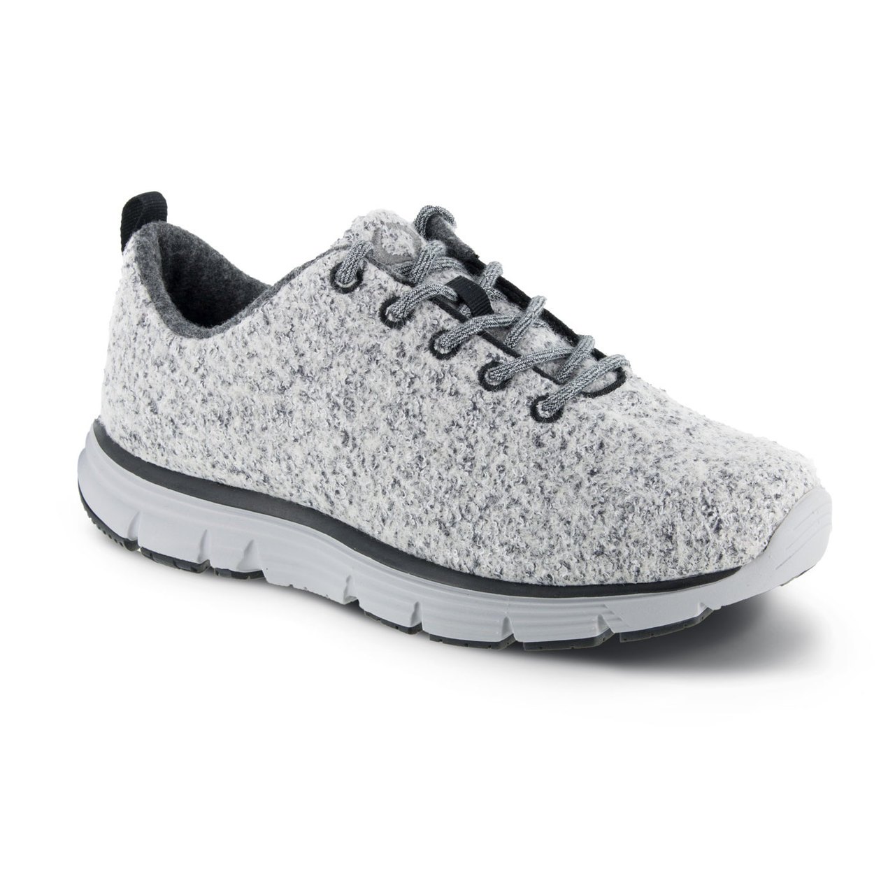 separation shoes 80978 45c38 Women's Natural FitLite Wool Knit - Light Grey |Apexfoot.com